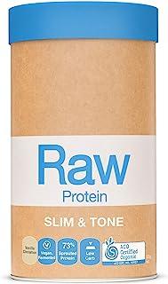 Amazonia Raw Slim and Tone Protein, Vanilla and Cinnamon, 500 g
