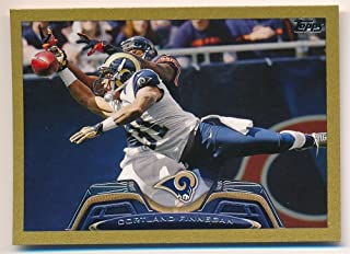 CORTLAND FINNEGAN 2013 TOPPS MINI #307 GOLD PARALLEL RAMS SP #47/58