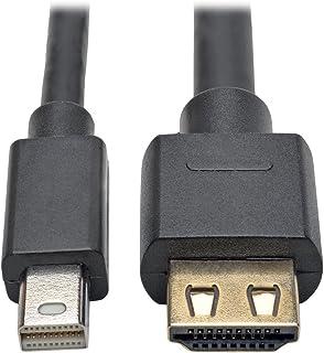 كبل محول ديسبلاي بورت 1.2 أ إلى HDMI من تريب لايت، اكتيف مع خاصية عرض HDMI 12 ft. P586-012-HD-V2A