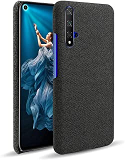 Grandcase Honor 20Case,Ultra-thin High Quality Felt Cloth Anti-Fingerprint Shock Absorber Protective Cover for Huawei Hono...