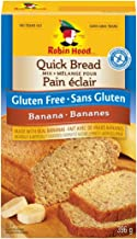 Robin Hood Gluten Free Banana Quick Bread Mix 396 Grams 13.96 Oz {Imported from Canada}