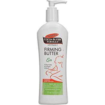 Palmer's Cocoa Butter Formula with Vitamin E + Q10 Firming Butter Body Lotion | 10.6 Ounces, Pack of 1