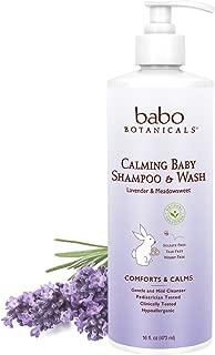 Babo Botanicals Calming Lavender Baby Shampoo & Wash Family Size, 16 Fl. Oz