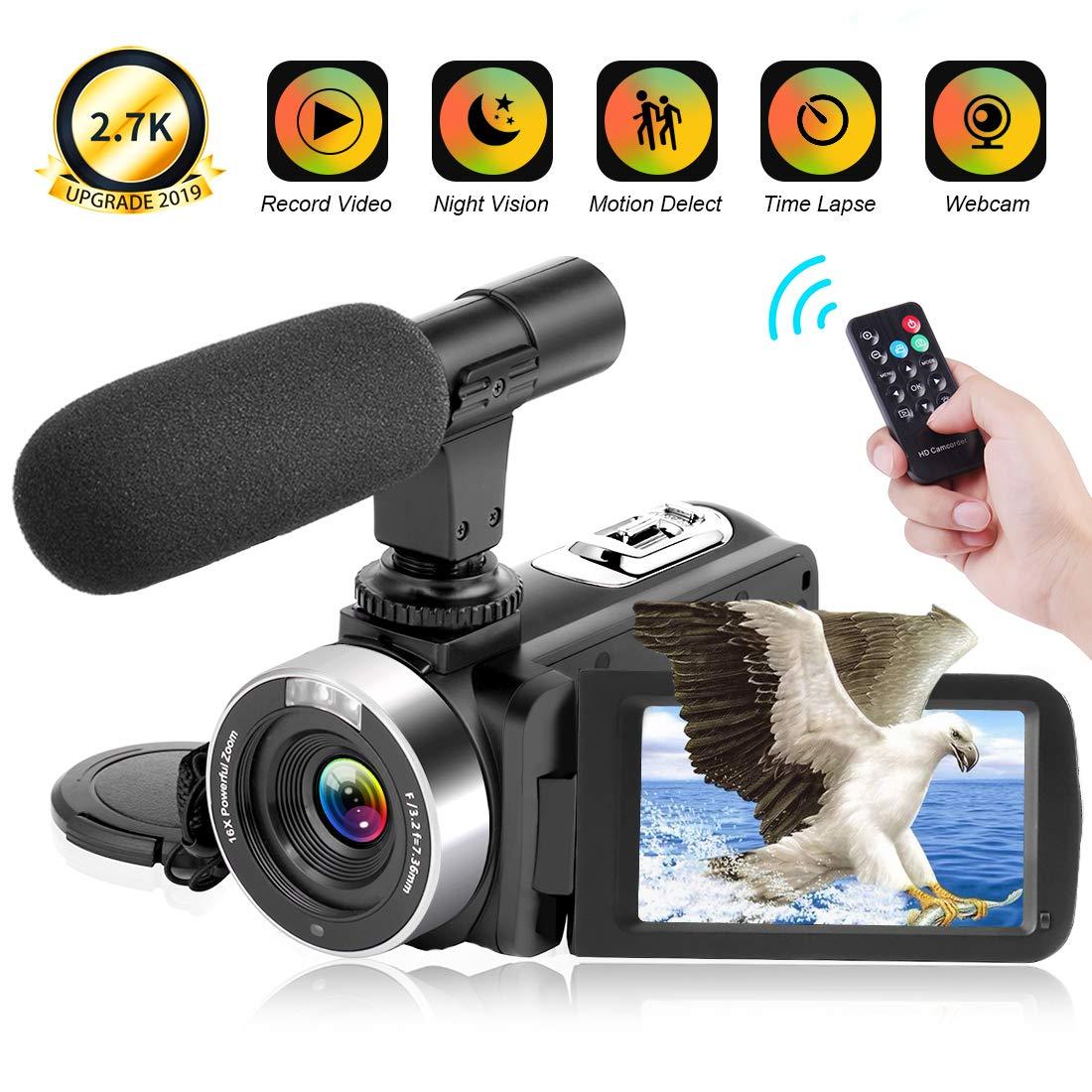 Camcorder Digital Vlogging Microphone Recorder