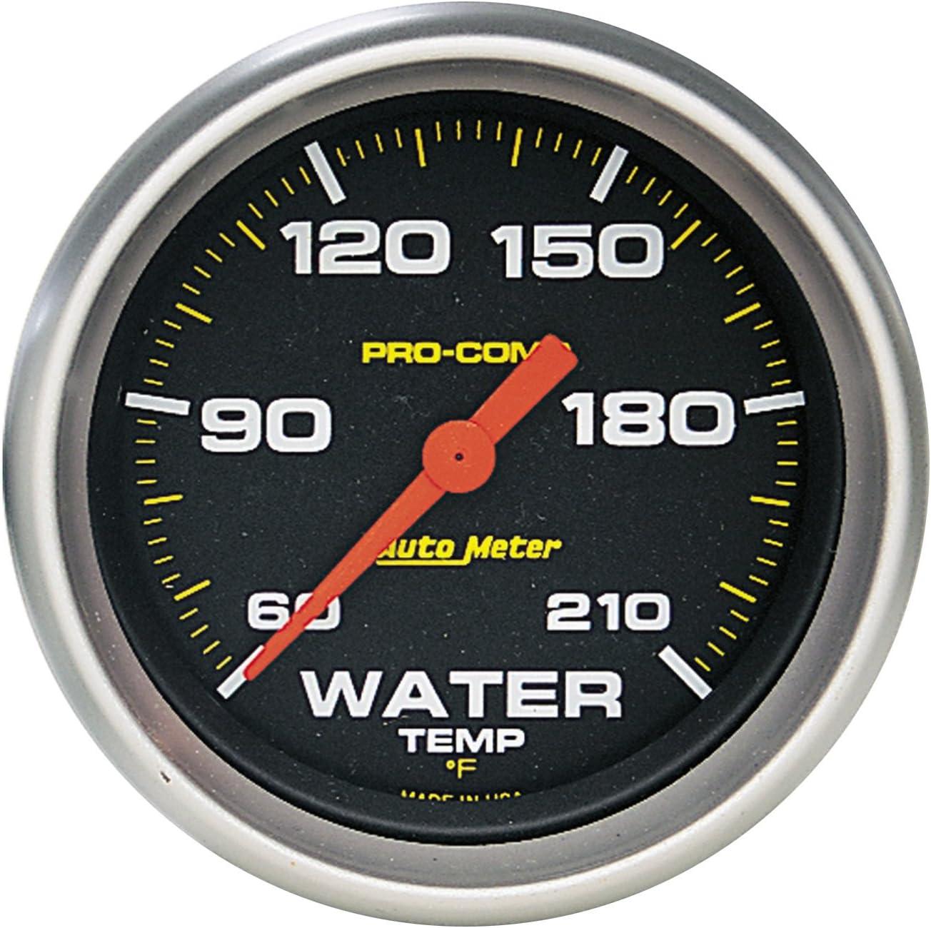 AUTO Phoenix Mall METER Max 64% OFF 5469 Pro-Comp Gauge Temperature Water Electric