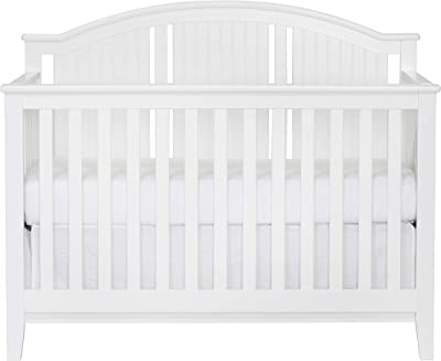 Suite Bebe Anaheim 4-in-1 Convertible Crib White