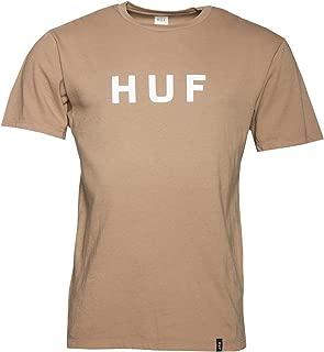 Huf Essentials OG Logo Short Sleeve T-Shirt Large Elmwood