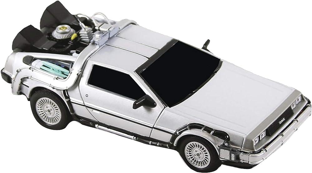 Neca - ritorno al futuro , auto del tempo , in metallo 30803453607