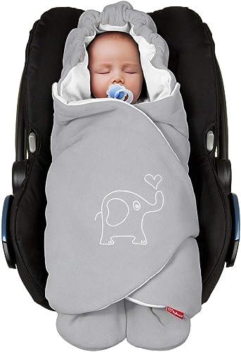 ByBoom® - Couverture enveloppante d'été, universelle pour coques bébé, sièges auto, par ex. Maxi-Cosi, Römer, pour la...