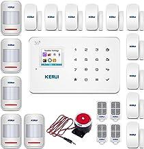 KERUI G183 Wireless 3G Home Security Alarm System DIY Smart Burglar Alarm Kit Auto Dial Alert,Expandable Up to 99 Intrusio...