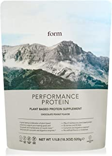 Form Performance Protein - Vegan Protein Powder - Complete Amino Acid Profile with BCAAs and Digestive Enzymes. Perfect Po...