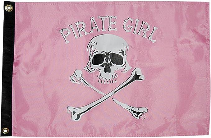 Taylor N A 1610 Pirate Zombie 12X18 Nylon Flag