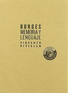 Borges. Memoria y lenguaje