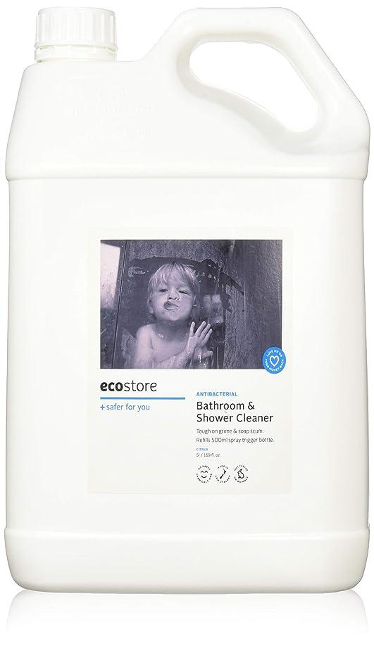 首謀者シャワー組み合わせるecostore エコストア バスルーム&シャワークリーナー 【シトラス】 大容量 5L お風呂用 液体 洗剤