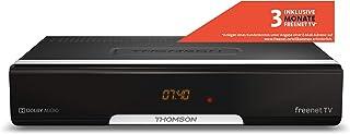 Thomson THT740 Terrestre Negro tV set-top boxes - Reproductor/sintonizador (Terrestre, DVB-T,DVB-T2, 576i,576p,720p,1080i,...