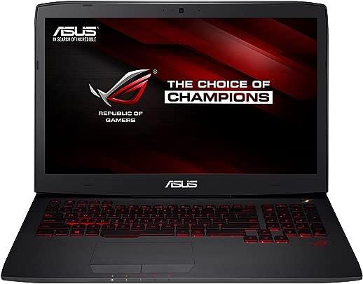 Asus ROG G751JY-T7336T 43 9 cm  17 3 Zoll mattes FHD  Laptop  Intel Core i7-4720HQ  8GB RAM  1TB HDD  256GB SSD  NVIDIA GeForce GTX 980M  Blu-ray  Win 10 Home  schwarz