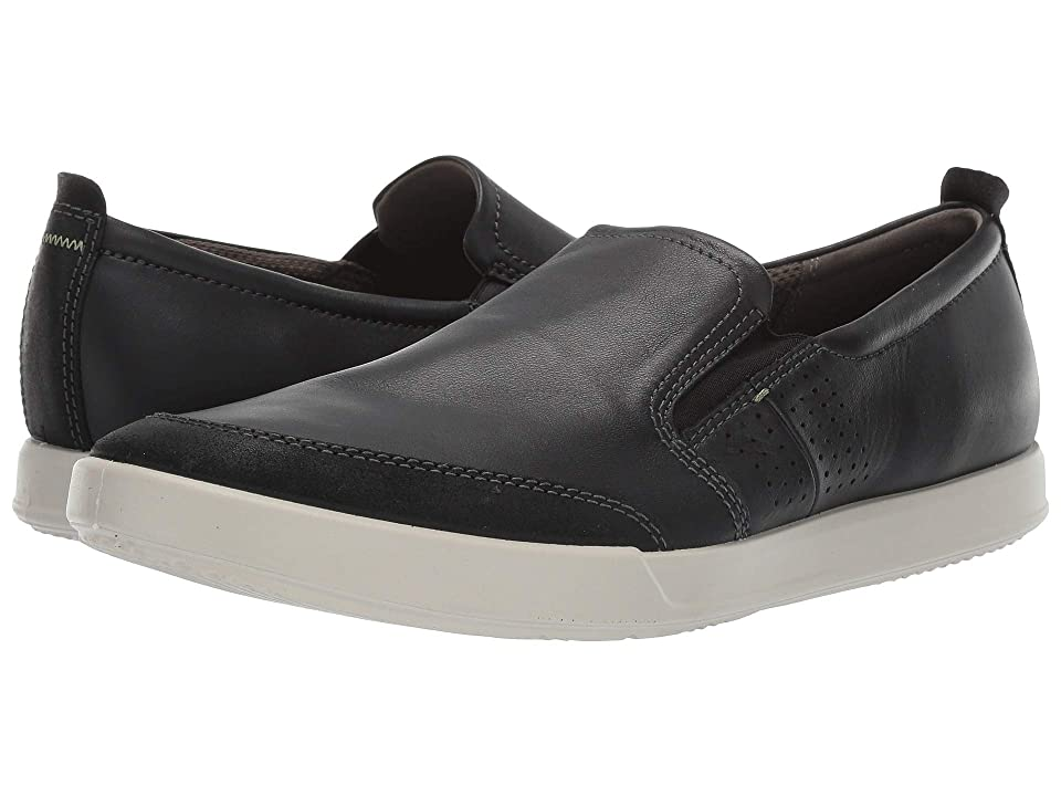 ECCO Collin 2.0 Slip-On (Black/Black) Men's Shoes