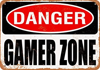 gamer zone sign