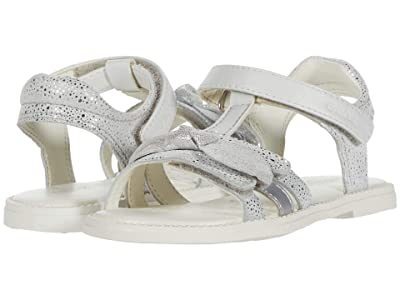 Geox Kids Sandal Karly 41 (Toddler/Little Kid) (White) Girl