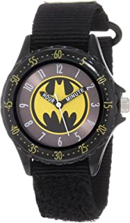 Batman Boys' BAT5038 Black Time Teacher Batman Watch