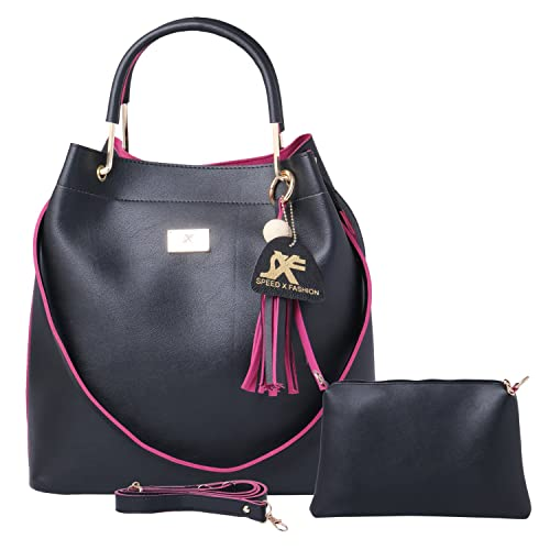 Speed X Fashion Women's Handbag and Shoulder Bag with Sling Bag Combo SNTY 120T