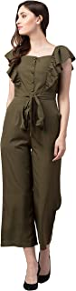 Slenor Women's Knee Length Jumpsuit.
