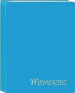 Pioneer Photo Albums I-46M/BL 36 Pockets Hold Memories Mini Photo Album, Blue, 4