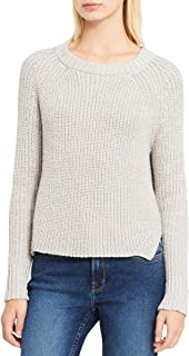 Jeans Women's High-Low Metallic-Detail Sweater