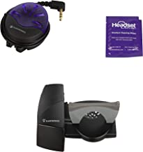 Plantronics HL10 Handset Lifter Bundle with On Call Busy Light and Headset Advisor Wipe (Renewed)
