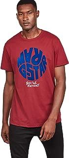 G-Star Men's Graphic 6 Round Neck Short Sleeve T-Shirt