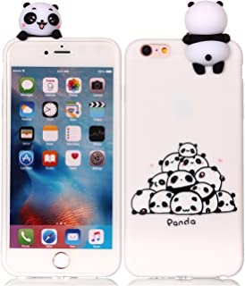 DAMONDY iPhone 6 Case Case,iPhone 6S Case, 3D Cartoon Cute Animals Pattern Soft Gel Silicone Slim Design Rubber Thin Protective Cover Phone Case for iPhone 6 and iPhone 6s (4.7