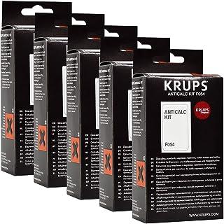 Krups - Kit Anticalcaire et détartrant -Lot de 5 - F054