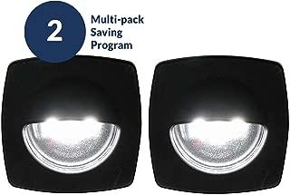 Five Oceans LED Cool White Companion Way Light, Black Housing (Pair) FO-3996
