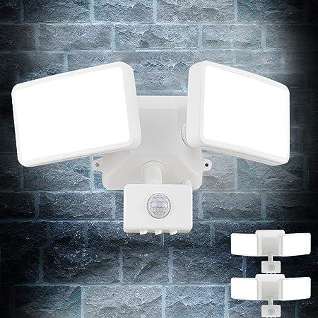 Wandlicht Wasserdicht Outdoor Lampe Pir Bewegungssensor Breit Winkel Weg 1800 Lm