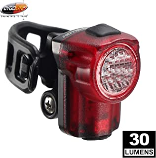 CYGOLITE Hotshot Micro– 30 Lumen Bike Tail Light– 3 Night & 2 Daytime Modes– Wide Scattered Beam– Compact Design– IP64 Wat...