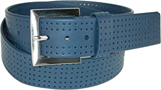 PGA TOUR Silicone Perforated Golf Belt - Navy