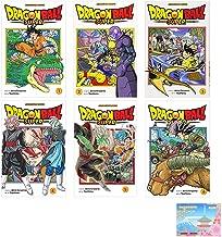 Dragon Ball Super Manga Vol 1 - 6 Collection 6 Books Set By Akira Toriyama With Original Sticky