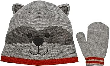 Carters Raccoon Hat & Mittens