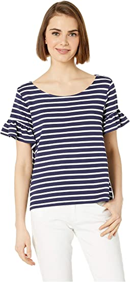 380aa821d2a3c Bb dakota palmer striped cotton top