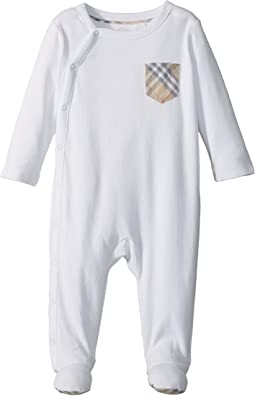 Jaydin Check Branded One-Piece (Infant)