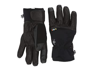 Smartwool Spring Gloves (Black) Extreme Cold Weather Gloves