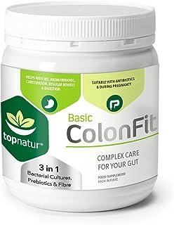 COLONFIT - Alivio de Gases e Hinchazón con Probióticos, Prebioticos y Fibra. Desintoxicación de Sistema Digestivo, Limpieza del Colon y un Estómago Contento!