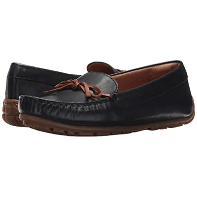 Clarks Dameo Swing (Navy Leather) Women
