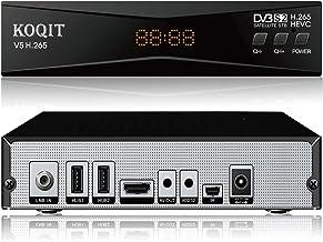 Koqit V5H H.265 Free To Air FTA Satellite Receiver DVB-S2 Satellite TV Receiver HEVC DVB..