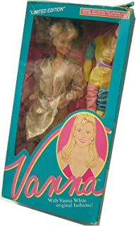 Vanna White Doll #003 Limited Edition From HSN Home Shopping Club 1990