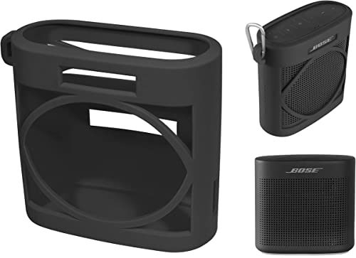 lowest getgear new arrival Silicone Cover Sleeve for Bose SoundLink Color Bluetooth Speaker II, Customized Design outlet online sale Skin Giving Full 6 Directions Protection, Best Matching in Shape and Color(Black) online
