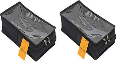 Srajanaa Mens Shoe Cover/Shoe Pouch Box Style - Large (Pack of 2)