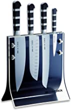 "Friedr. Dick 4-Piece 1905 Knife Block Includes 8"" Chef's Knife, 7"" Santoku Knife, 8"" Slicer and 3"" Paring Knife"