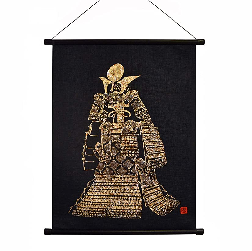 heiyemon Yuzen Washi Tapestry Includes Hanging (Yoroi)