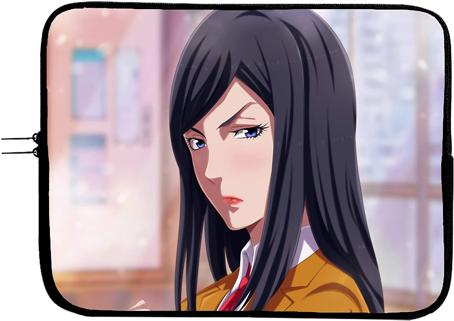 High material Prison School Anime Laptop Max 48% OFF Sleeve Tablet 11 Bag Computer Inch